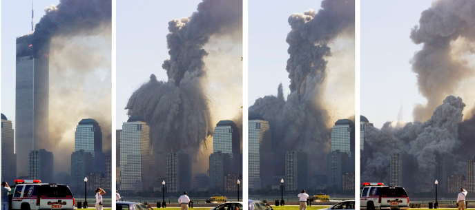 The vertical collapse of the Twin Towers, supposed to withstand the impact of an airplane, was interpreted by proponents of an internal conspiracy as evidence that they had been laminated.