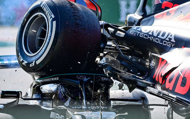 Lewis Hamilton feels 'fortunate to be alive' after Max Verstappen's car lands on head