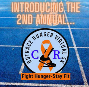 text: Featured Event: Outrace Hunger 5K (Katie Daniels)