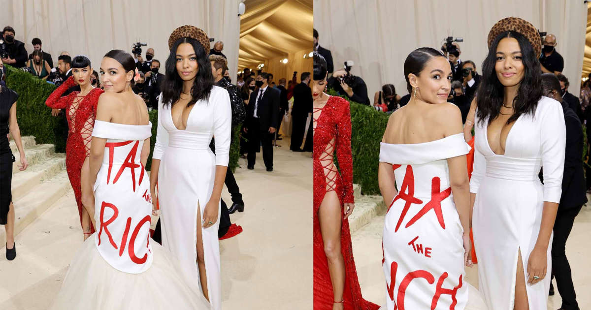 AOC, the Met Gala and the misery of fashion