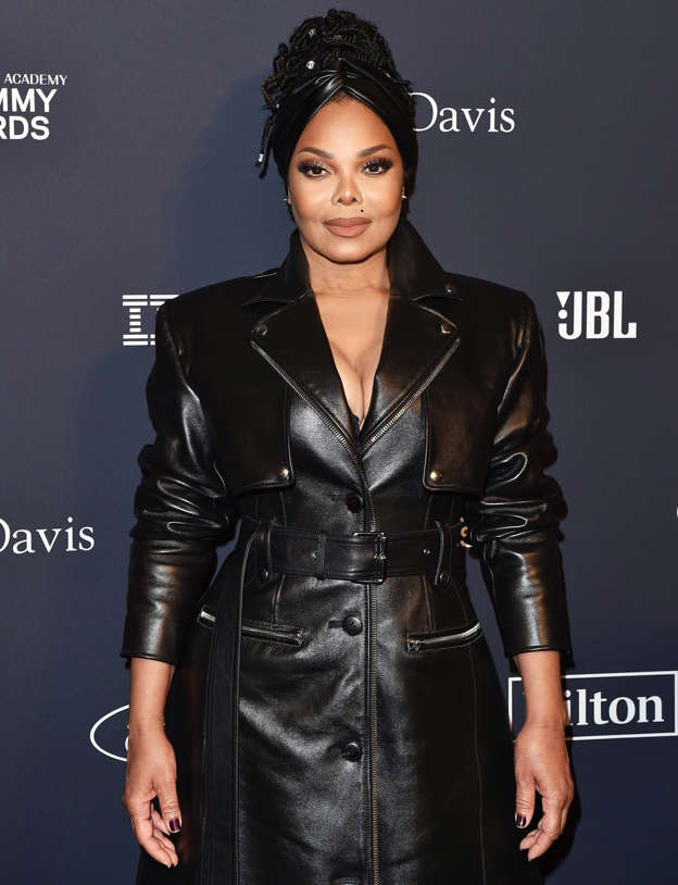 Janet Jackson posing for a picture: Axelle/Bauer-Griffin/FilmMagic Janet Jackson