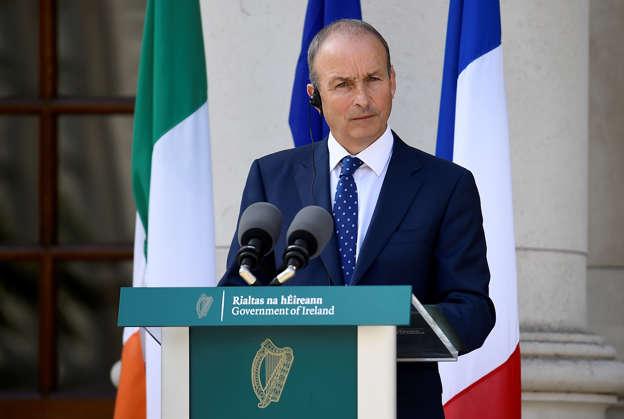 Ireland's Prime Minister (Taoiseach) Micheal Martin. REUTERS/Clodagh Kilcoyne/Pool