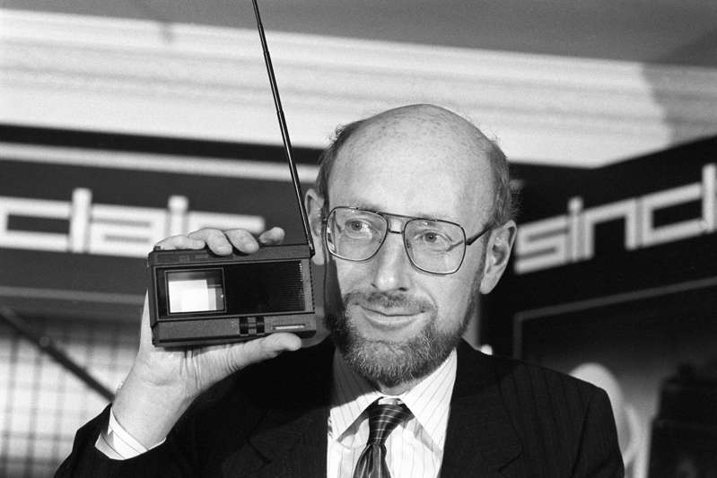 Clive Sinclair wearing glasses and looking at the camera: Clive Sinclair was a pioneering entrepreneur (PA)