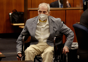 a man sitting in a chair: US: Real estate heir Robert Durst convicted of murder