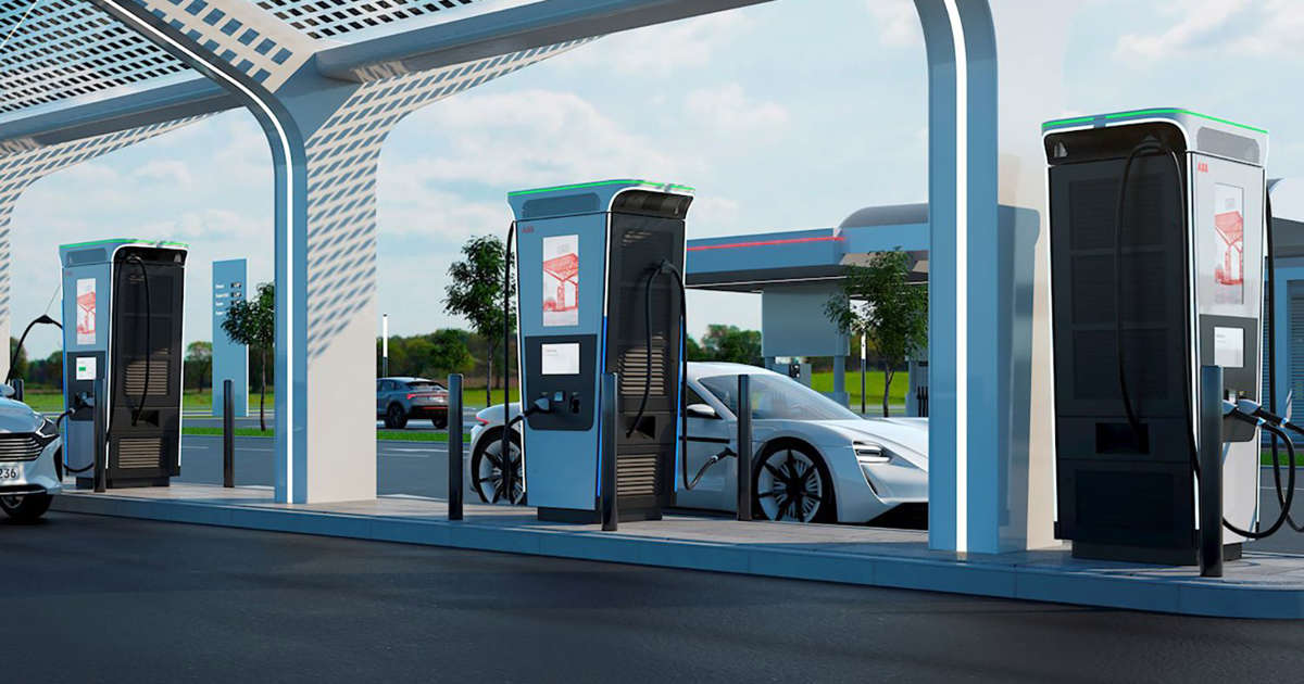 The World's fastest EV charging station promises a full battery in under 15 minutes