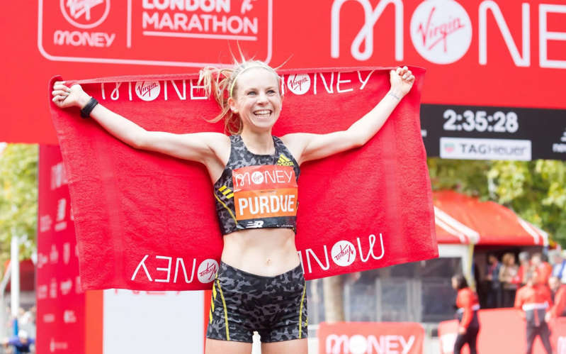 Vindication for Charlotte Purdue as she achieves London Marathon personal best after Olympics snub - SHUTTERSTOCK