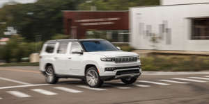 No longer content to let the profits of full-size SUVs slip away, Jeep introduces a true behemoth.