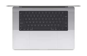 The keyboard in the new MacBook Pro laptops has traditional function keys and Touch ID.