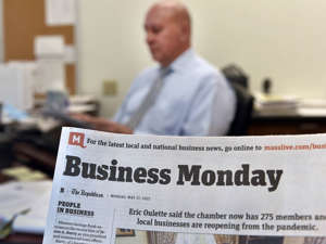 Photo illustration for Business Monday