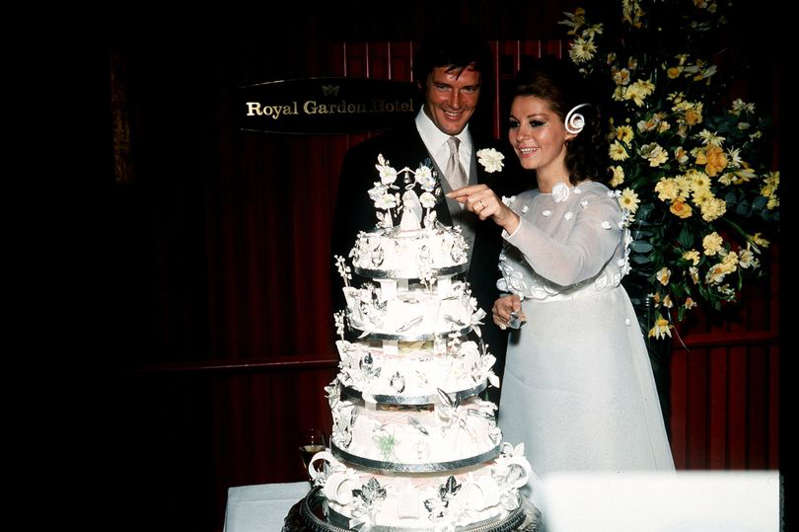 Sir Roger and Luisa got married in London in 1969
