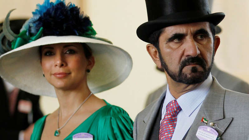 Sheikh Mohammed has denied any knowledge of the hacking of Princess Haya's phone