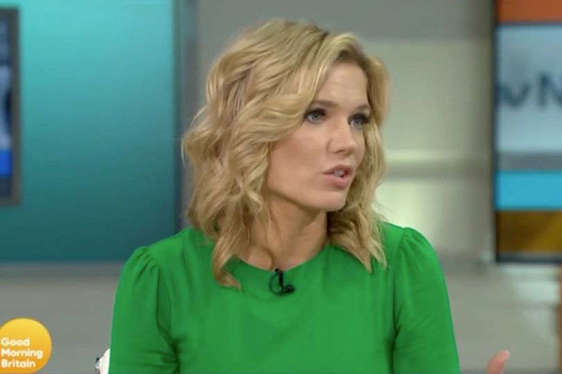 Charlotte Hawkins has revealed she had to rush to hospital after feeling pain in her leg