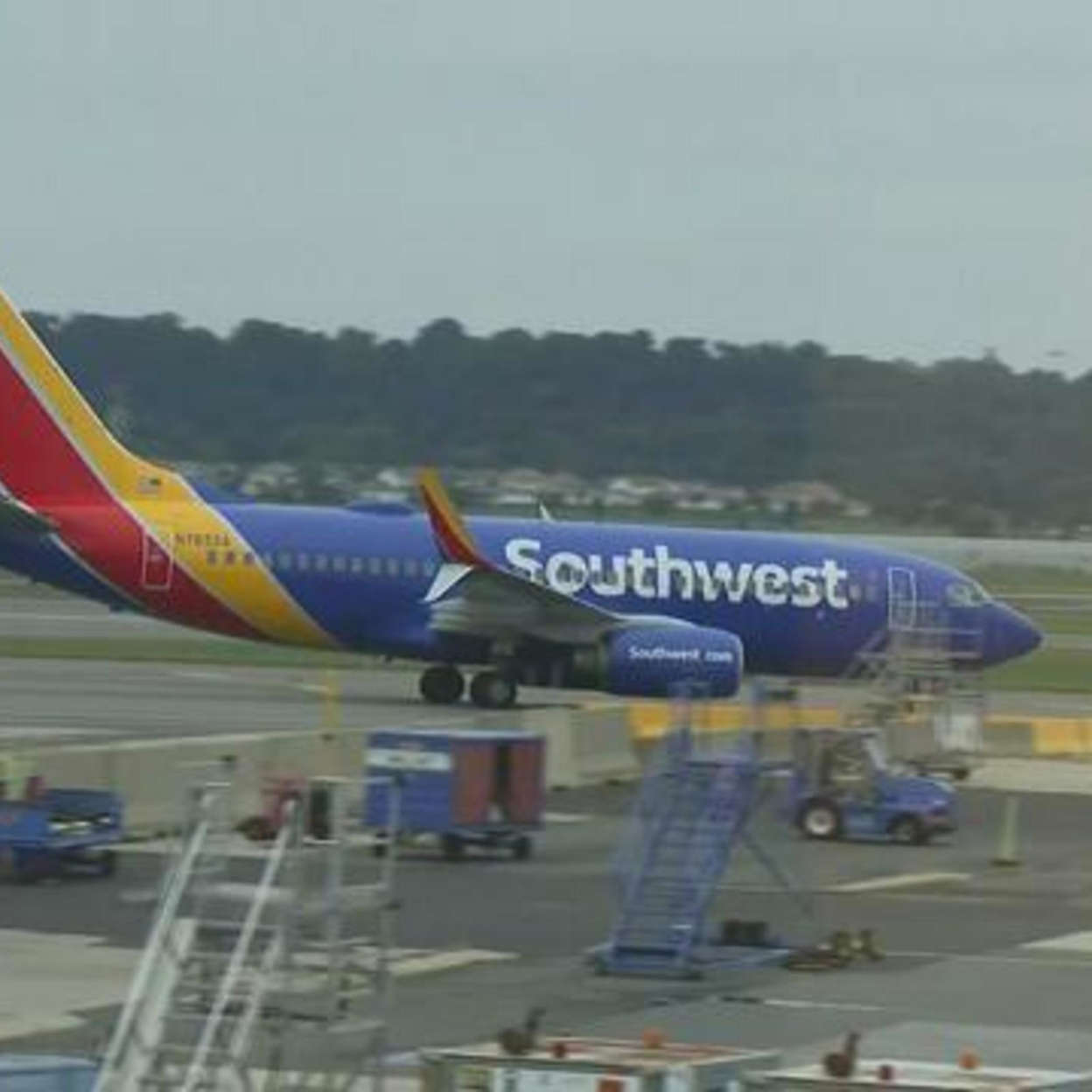 Southwest pilots' union president blames airline for cancellations