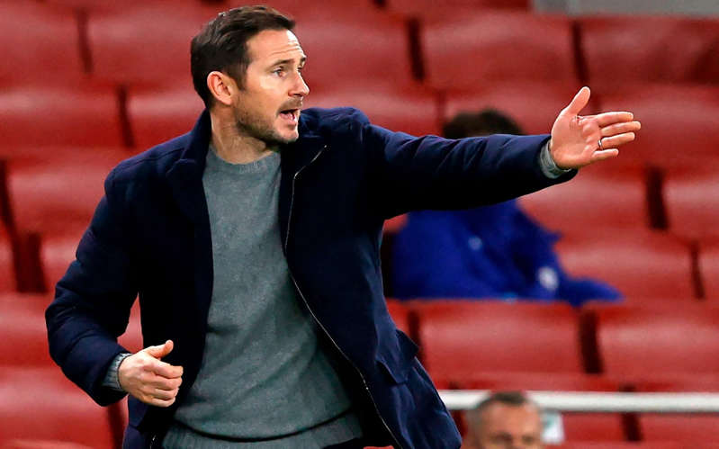 Frank Lampard has emerged this week as the favourite to replace Bruce - AFP