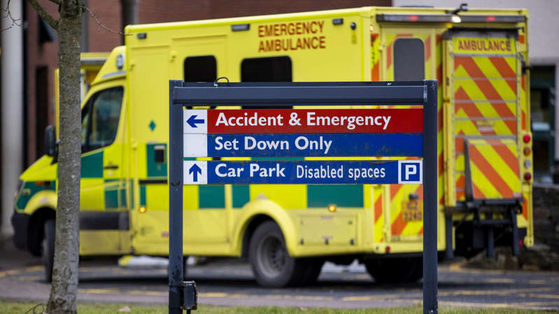 A&E attendances in England were up by 26% in September