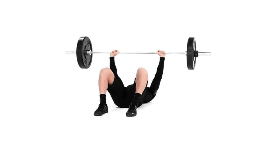Barbell Floor Press : Chest, Shoulders, Triceps - MSN Health