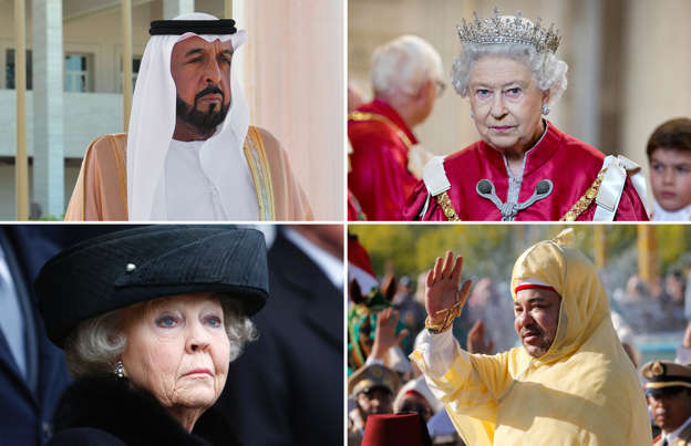 The world's richest royals