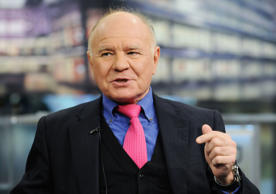 Marc Faber, investment analyst, speaks during a television interview in New York, U.S., on Monday, May 10, 2010. Faber, the publisher of the Gloom, Boom & Doom report, said the European Union-led bailout deal for Greece will only postpone Greece's problems. Photographer: Jonathan Fickies/Bloomberg *** Local Caption *** Marc Faber