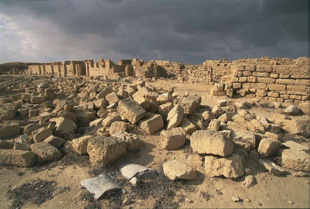 Slide 4 of 18: Christian Ruins of Abu Mena, Egypt