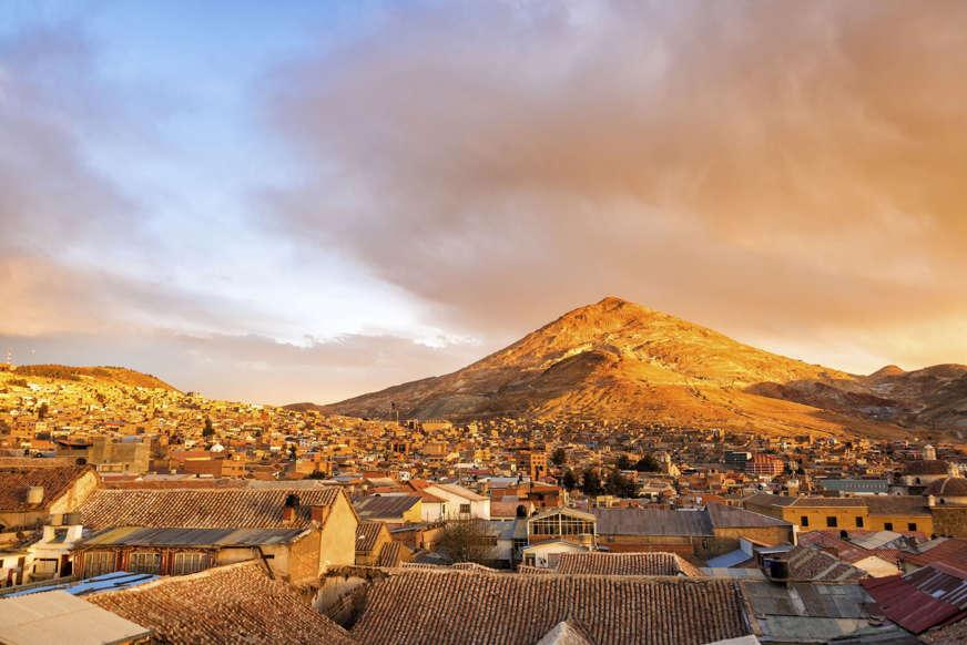 الشريحة 3 من 17: Cerro Rico, Potosi