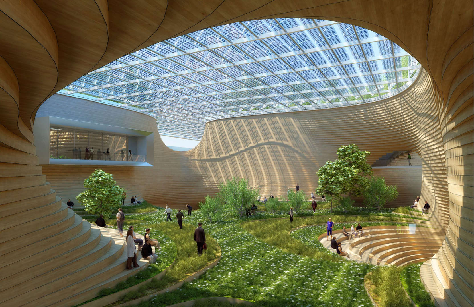 Future Cities And Sci Fi Design - Physalia-a-huge-floating-garden-by-vincent-callebaut