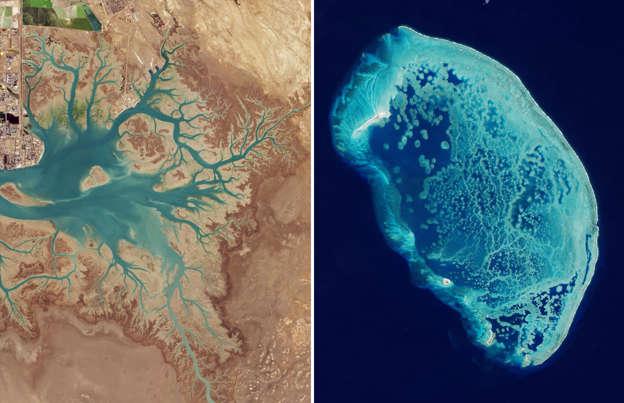 de mooiste foto's van de aarde vanuit de ruimte