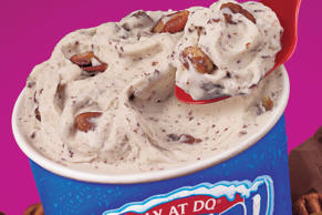 Turtle Pecan Cluster Blizzard from Dairy Queen