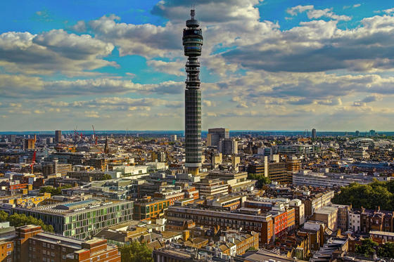 Dia 1/36: BT Tower