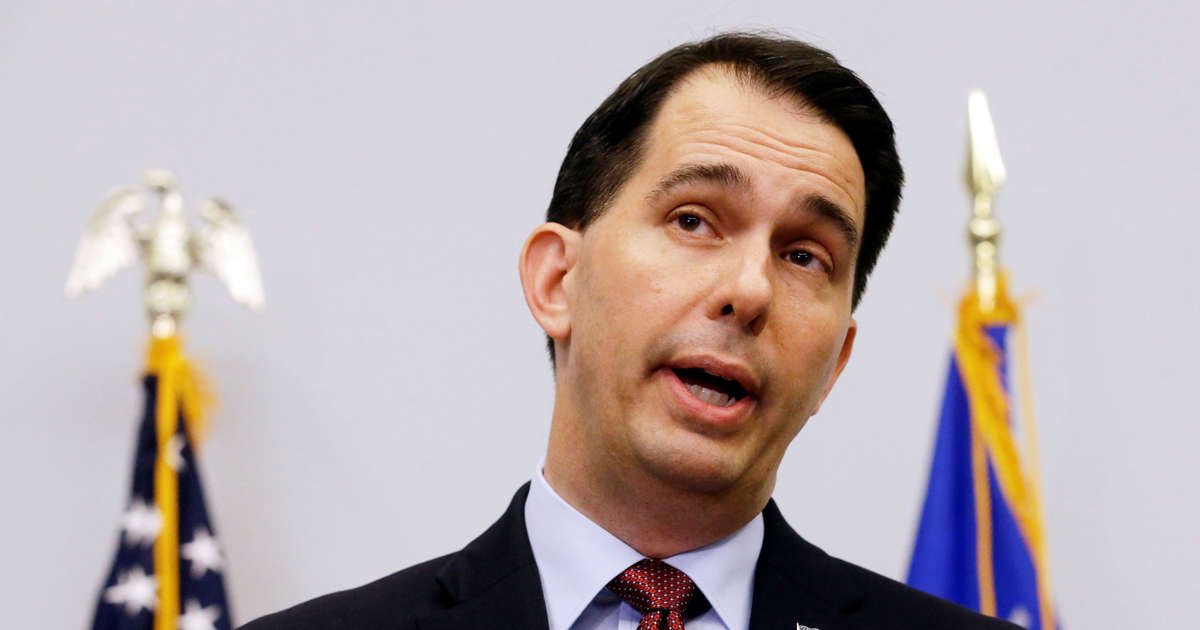 The Latest: Walker concedes defeat to Democrat Evers