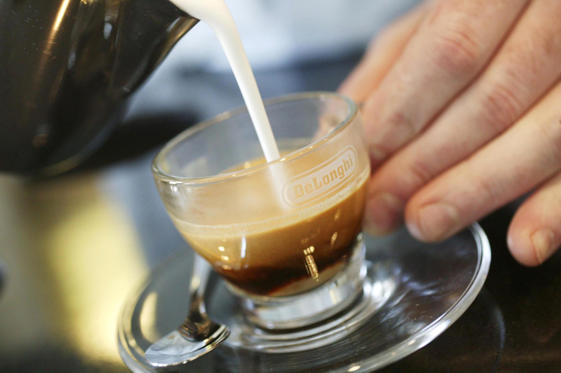 Delonghi Caffe Raro, the world's rarest coffee was unveiled today at Peter Jones, Sloane Square, London.