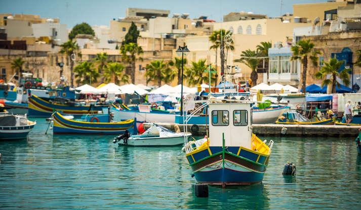 Διαφάνεια 7 από 29: Malta, Marsaxlokk