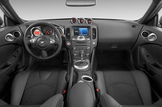 2012 Nissan 370Z Interior Photos - MSN Autos