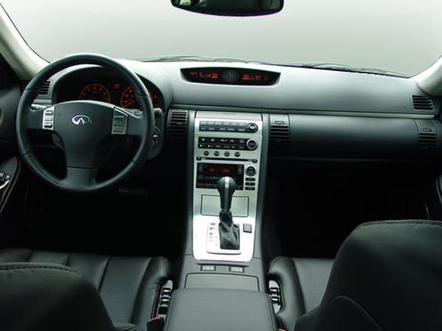 2005 Infiniti G35 Coupe Interior Skill Floor Interior