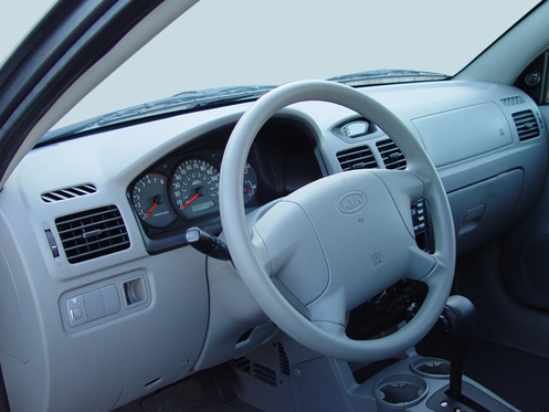 2005 Kia Rio Interior Photos - MSN Autos
