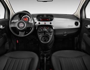 Nieuw 2013 Fiat 500 Turbo Cattiva Interior Photos - MSN Autos FP-19