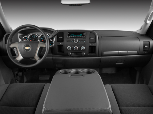 2008 Chevrolet Silverado 1500 Work Truck Crew Cab Interior Photos
