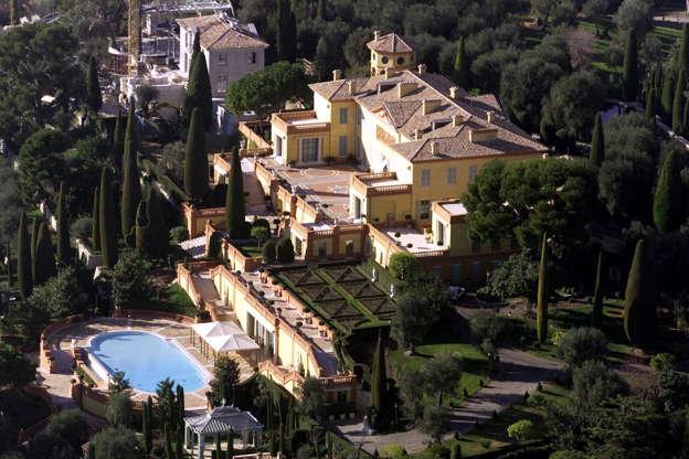 Διαφάνεια 12 από 14: 7.Villa Leopolda, Cote D'Azure, France. Worth: $750 million