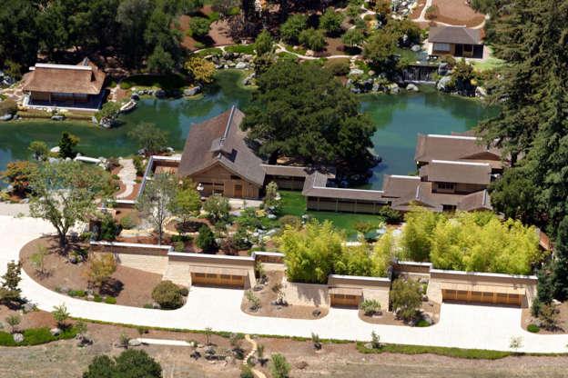 Διαφάνεια 9 από 14: 12.Ellison Estate, California, USA. Worth: $200 million
