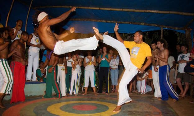 a history of capoeira martial arts from brazil Come to learn this unique brazilian fight with more than 100 years of history during their battle for freedom in the 18th century, the slaves in brazil created.