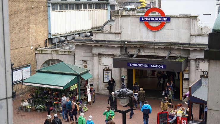 Διαφάνεια 6 από 20: Underground Station