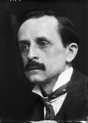 Διαφάνεια 19 από 20: Scottish writer and dramatist Sir J.M. Barrie (1860 - 1937), best known as the creator of Peter Pan, 1902.