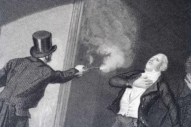 Διαφάνεια 9 από 20: Spencer Perceval by John Bellingham in 1812, the only British Prime Minister to be assassinated.