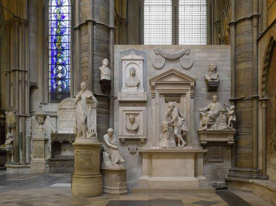 Διαφάνεια 15 από 20: Westminster Abbey, London, United Kingdom. Architect: Several, 1745. Westminster Abbey, London, United Kingdom. Architect: Several, 1745. Poets Corner.