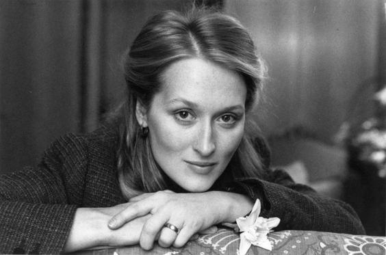 Slide 1 of 16: Meryl Streep, American actress born in Summit, New Jersey, who has starred and acted in many award-winning films.   (Photo by Evening Standard/Getty Images)
