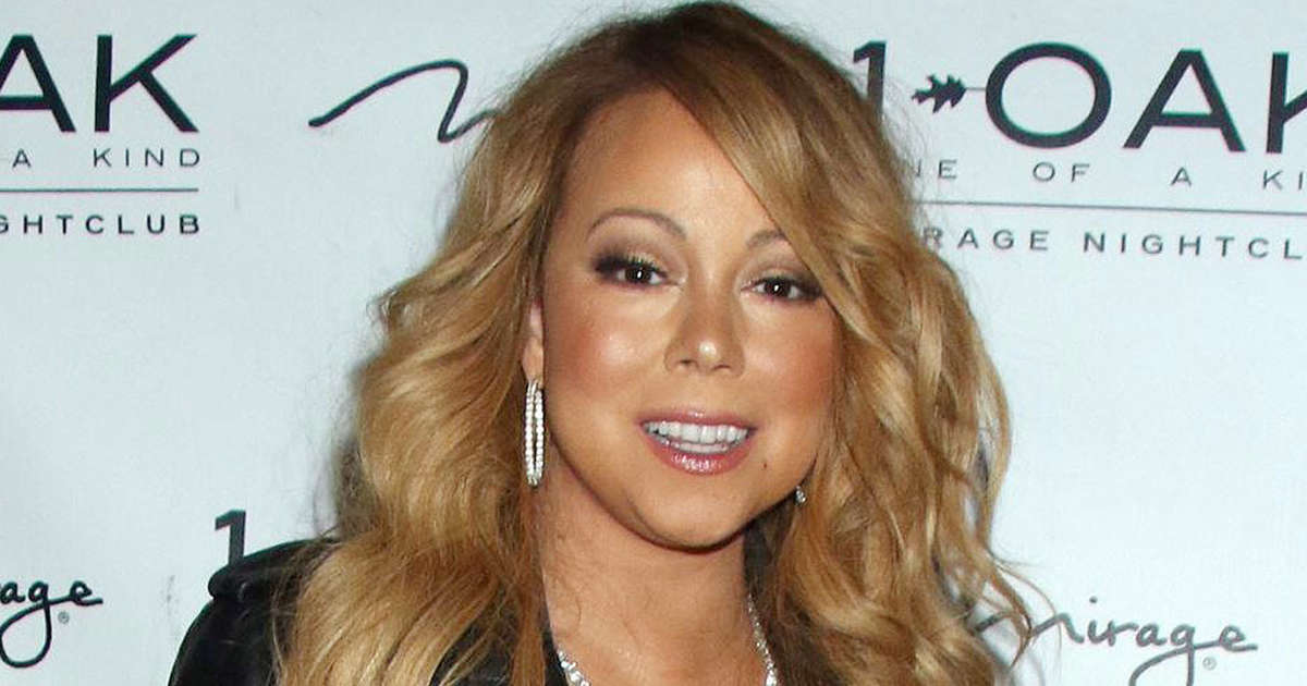 053bb35c563 Mariah Carey hits the red carpet in nothing but lingerie