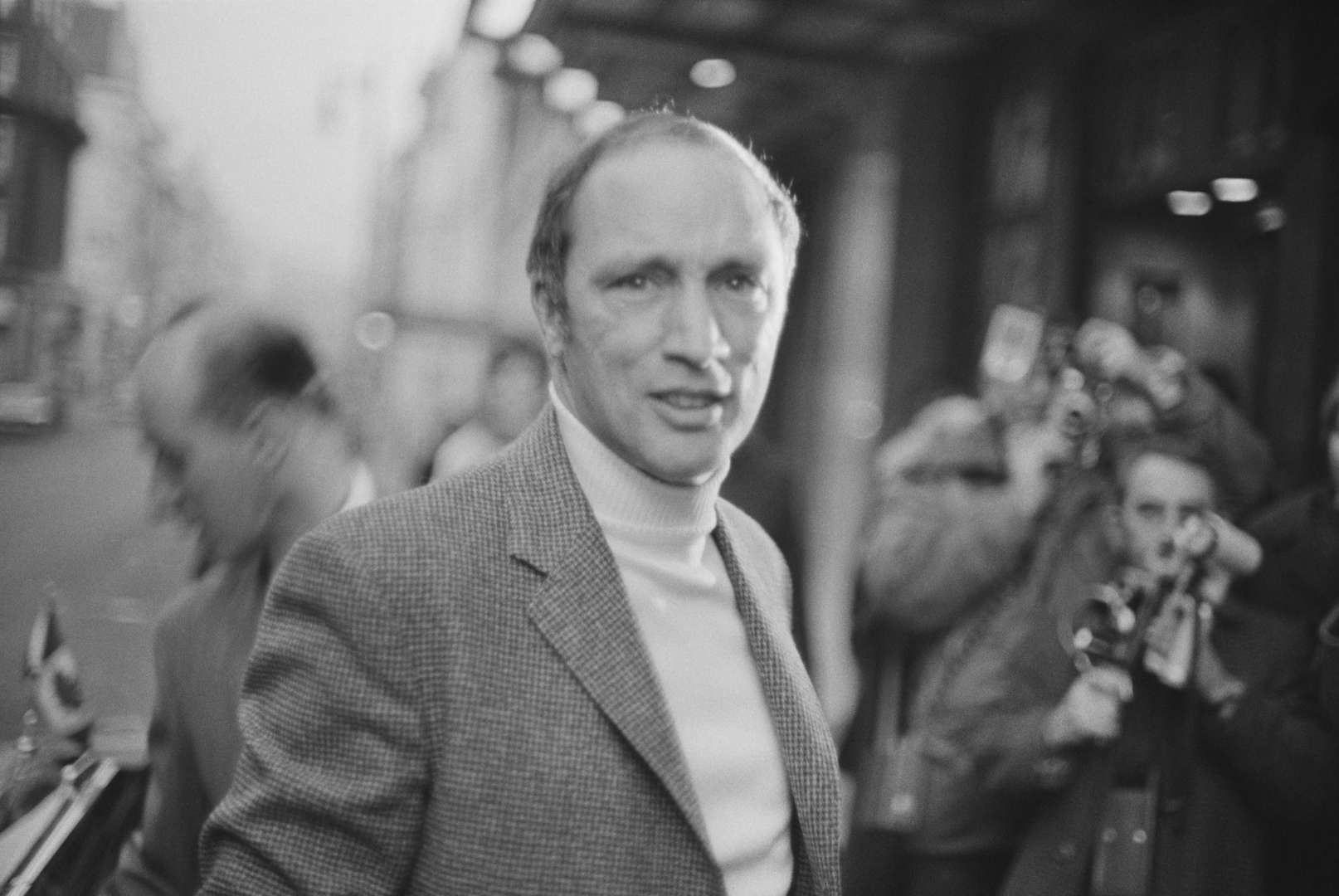 Prime Minister of Canada Pierre Trudeau (1919 - 2000) at Claridge's hotel, London, 4th January 1969.