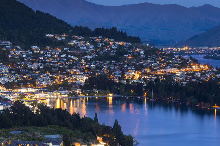 Queenstown, along with Waiheke and Auckland, is top of the list for wealthy Americans avoiding 'the end of the world'.