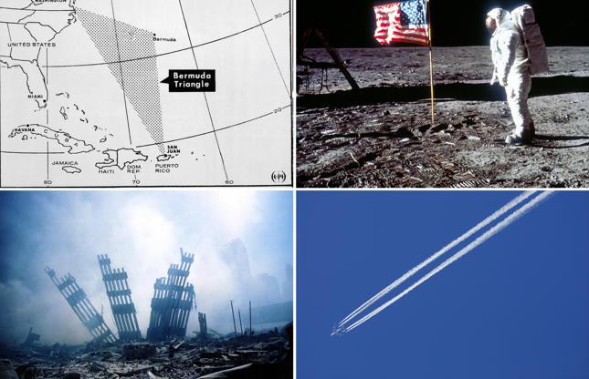Slide 1 de 25: Verdades ocultas: as mais famosas teorias da conspiração