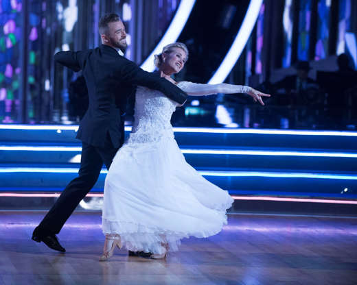 Slide 22 de 27: The nine remaining celebrities will set out to leave a lasting impression with their dances as they commemorate their most memorable year, on 'Dancing with the Stars,' live, MONDAY, OCTOBER 10 (8:00-10:01 p.m. EDT), on the ABC Television Network. (Eric McCandless/ABC via Getty Images) ARTEM CHIGVINTSEV, MAUREEN MCCORMICK