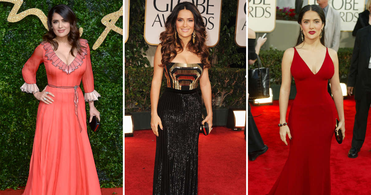 861dfb89b90 Salma Hayek at 50: Her style over the years